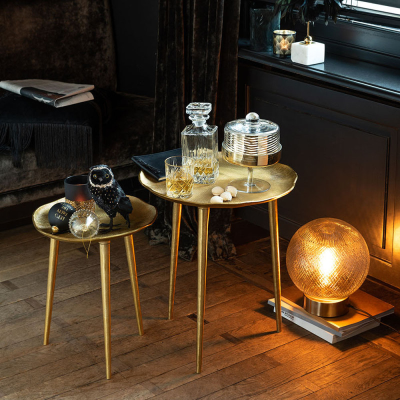 Table gigogne dorée - Cly