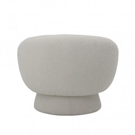 Fauteuil rond blanc design Bloomingville - Pereiro
