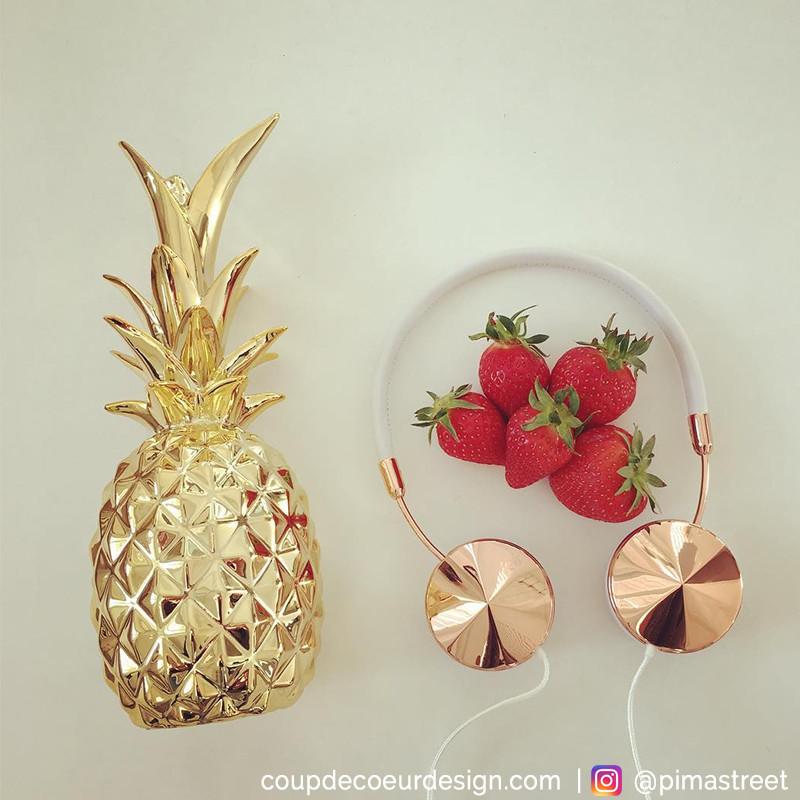 Ananas doré Bloomingville - Ananas