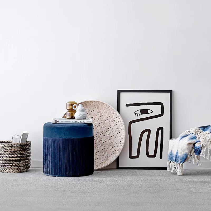 Vase déco blanc H 12,50cm - Terracotta