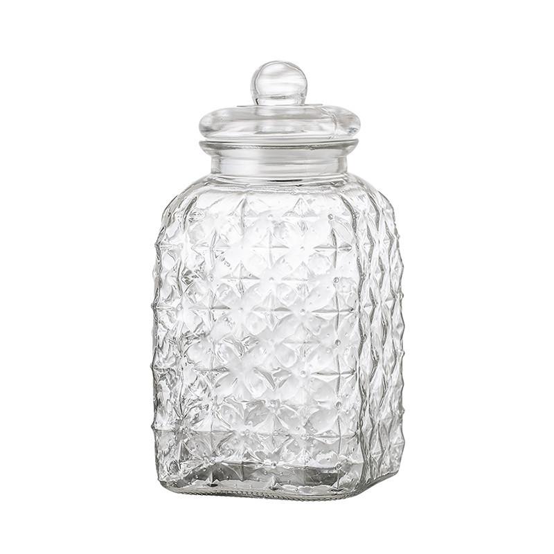 Grande bonbonnière en verre transparent design - Tagada