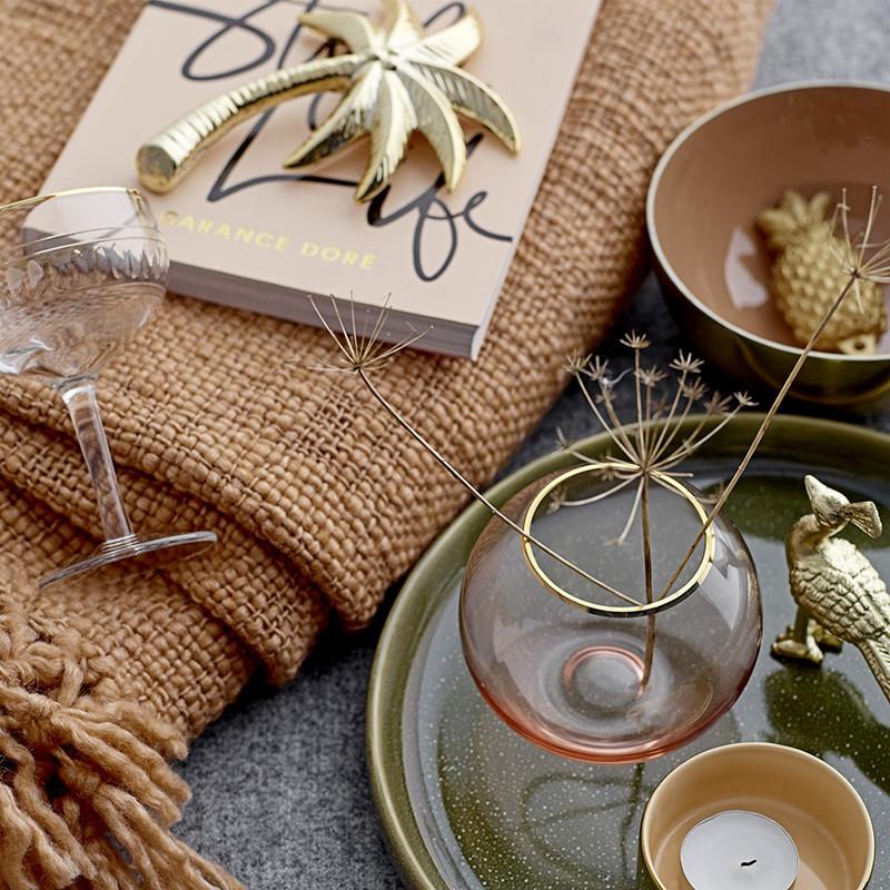 Décoration palmier doré Bloomingville - Palmier