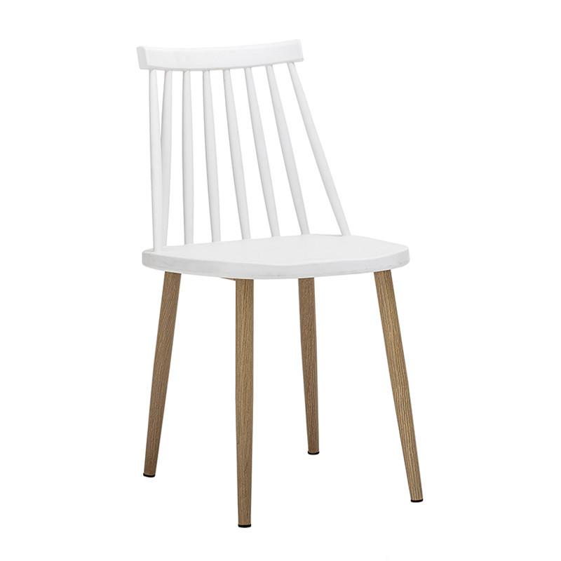 Chaise jardin blanche design à barreaux Bloomingville