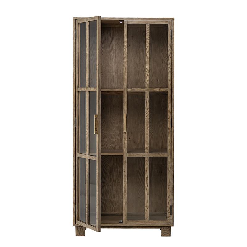 Vitrine bois design Bloomingville - Veri