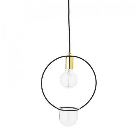Lampe suspendue avec plante Bloomingville