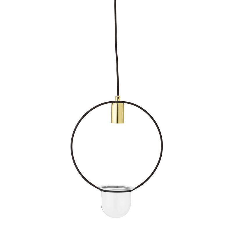 Suspension luminaire avec plante design Bloomingville - Tropicale