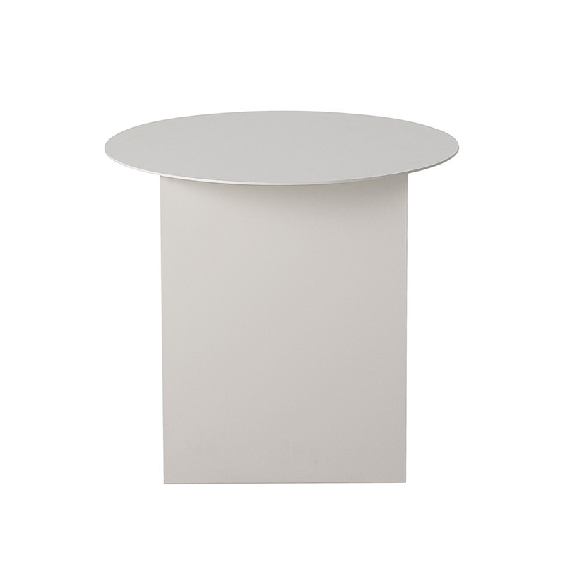 Table d'appoint blanche contemporaine Bloomingville - Chey