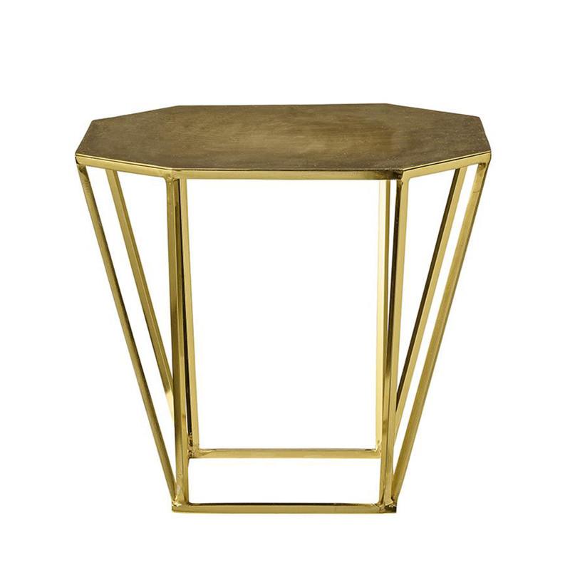 Table d´appoint dorée design Bloomingville - Diamond