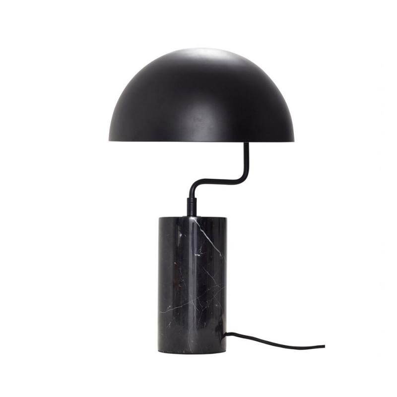 Lampe à poser design noire Hubsch - Lam