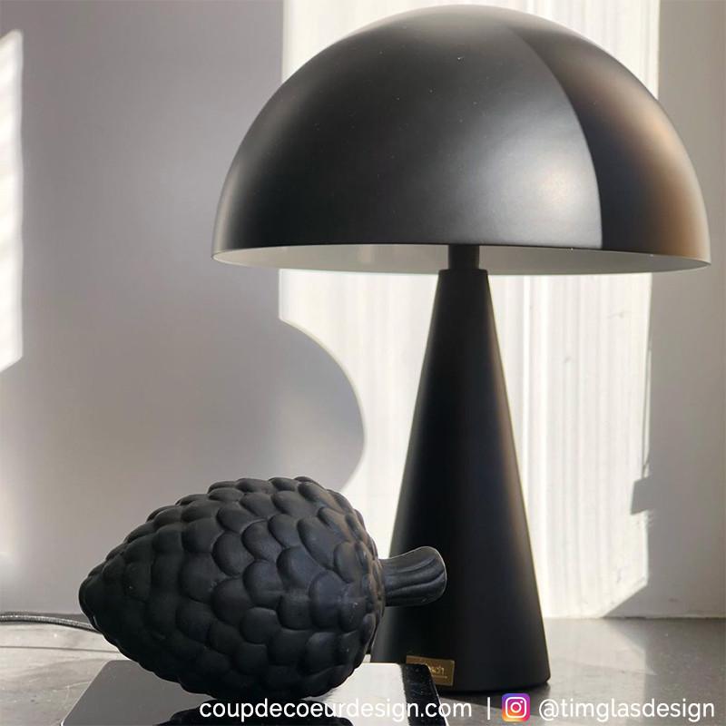 Lampe design noire Hubsch - Lafo