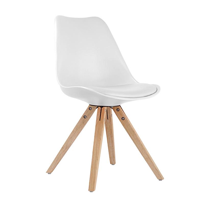 Chaise style scandinave blanche - Ella