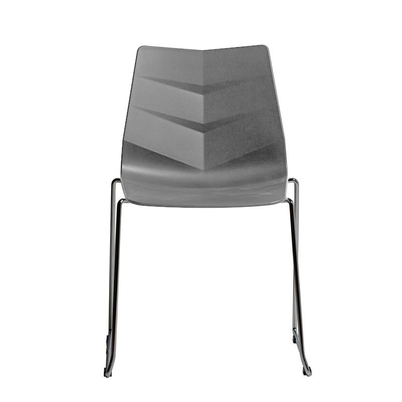 Chaise de cuisine grise - Calio