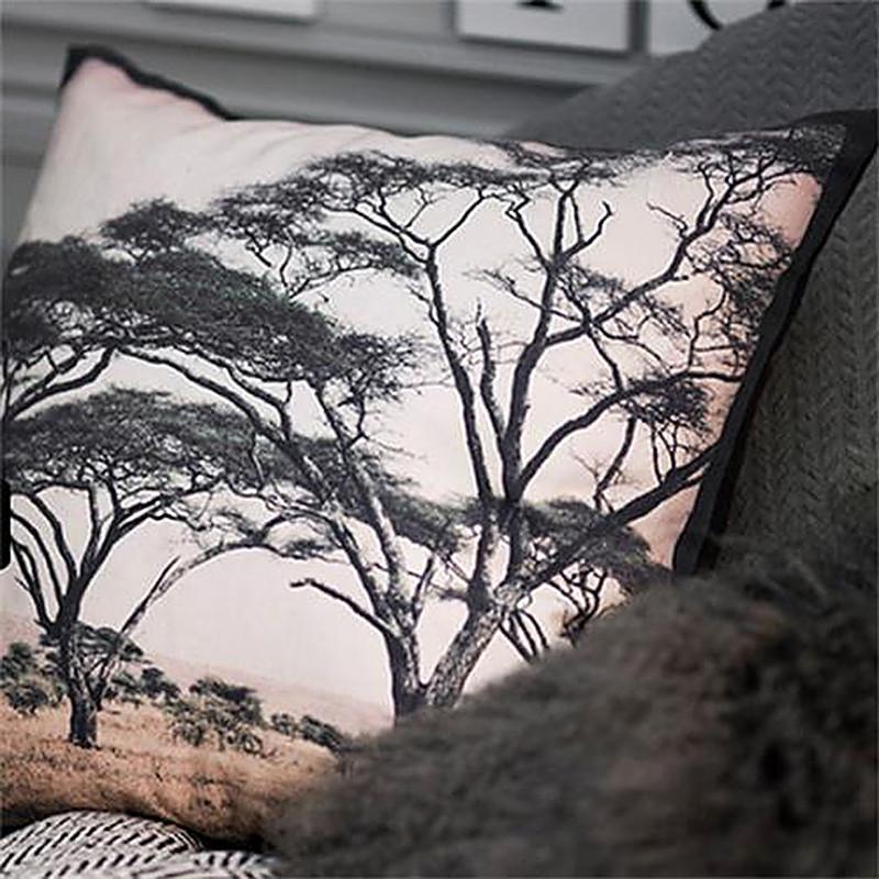 Coussin imprimé safari nature - Trip