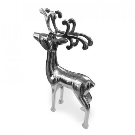 Objet déco cerf argent - Deer