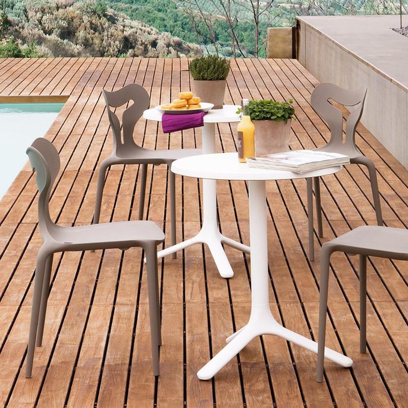 Chaise de cuisine beige Connubia - Area51
