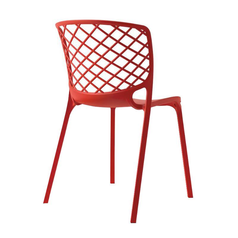 Chaise de jardin rouge Connubia - Gamera