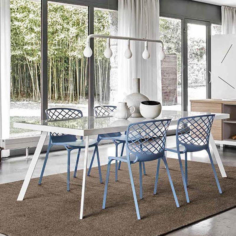 Chaise de cuisine bleu Connubia - Gamera