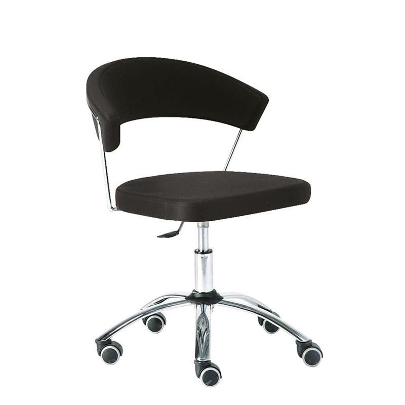 Chaise de bureau noir design Connubia - New York