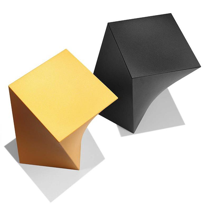 Tabouret noir design - Kubik