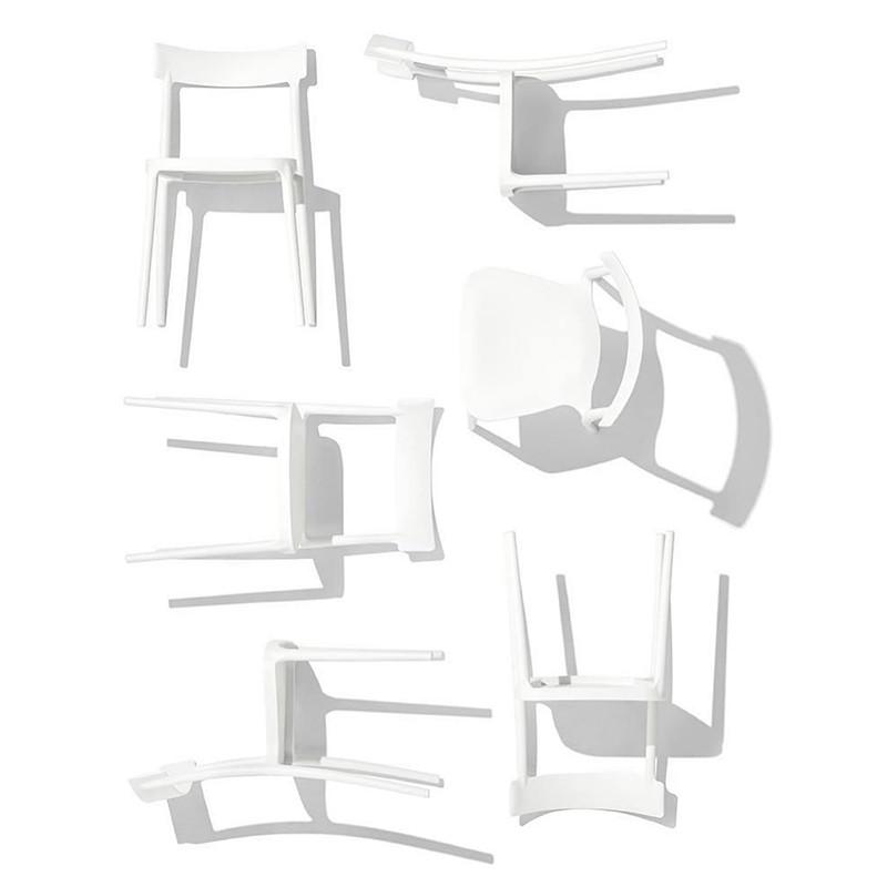 Chaise de cuisine blanche Connubia - Argo