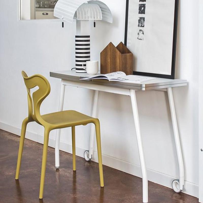 Chaise design jaune moutarde Connubia - Area51