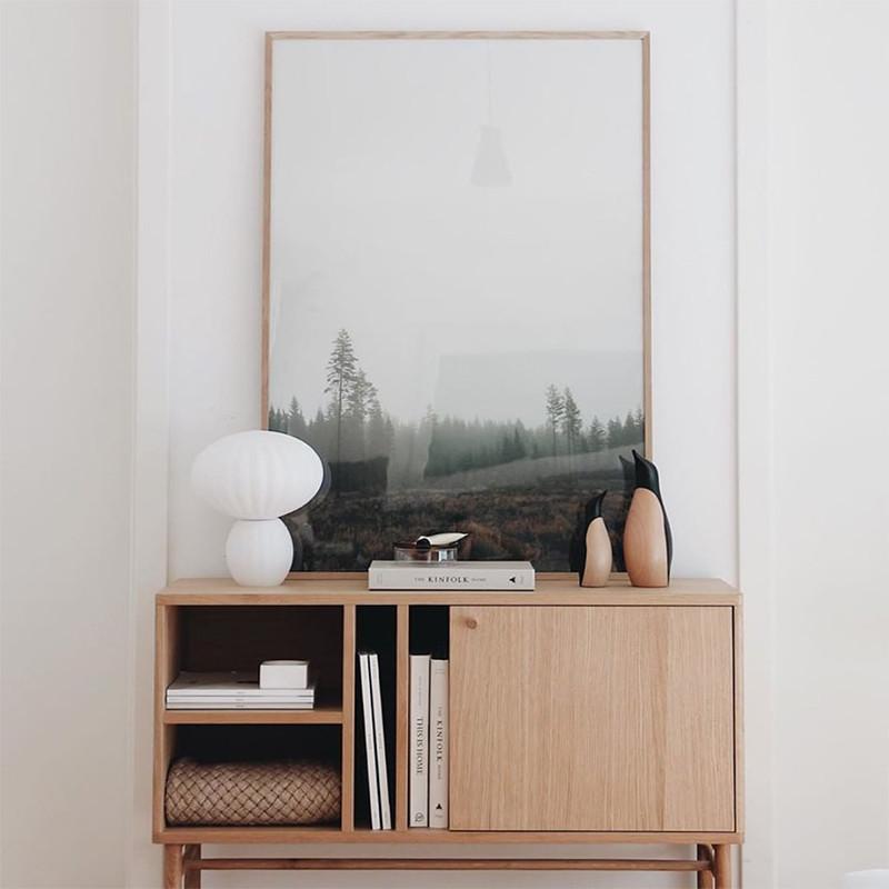 Meuble d'entrée en bois design scandinave - Sine