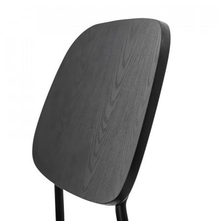 Chaise design noir vintage Bloomingville - Monza