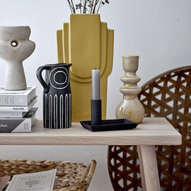 Vase jaune moutarde Bloomingville - Ata