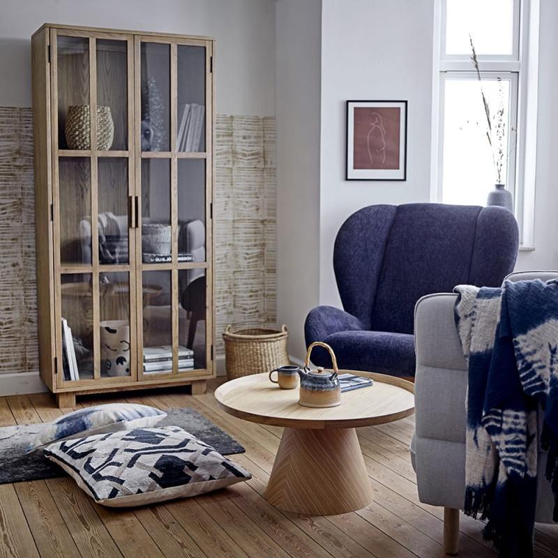 Table basse ronde en bois design Bloomingville - Trouv