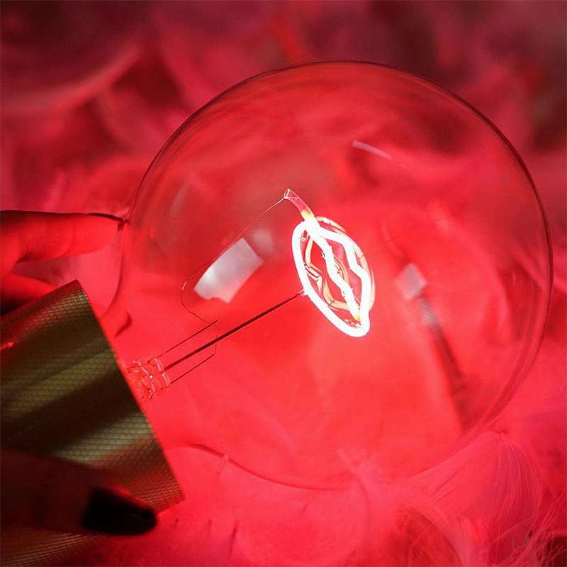 Ampoule design déco bouche rouge - Lip