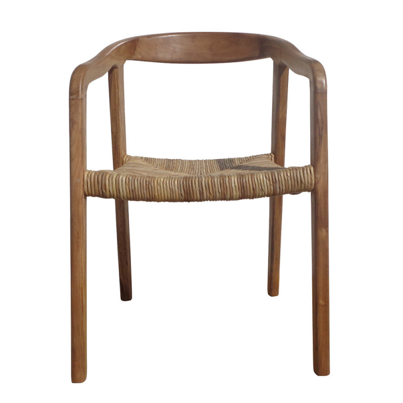 Chaise bois naturel californienne design - July