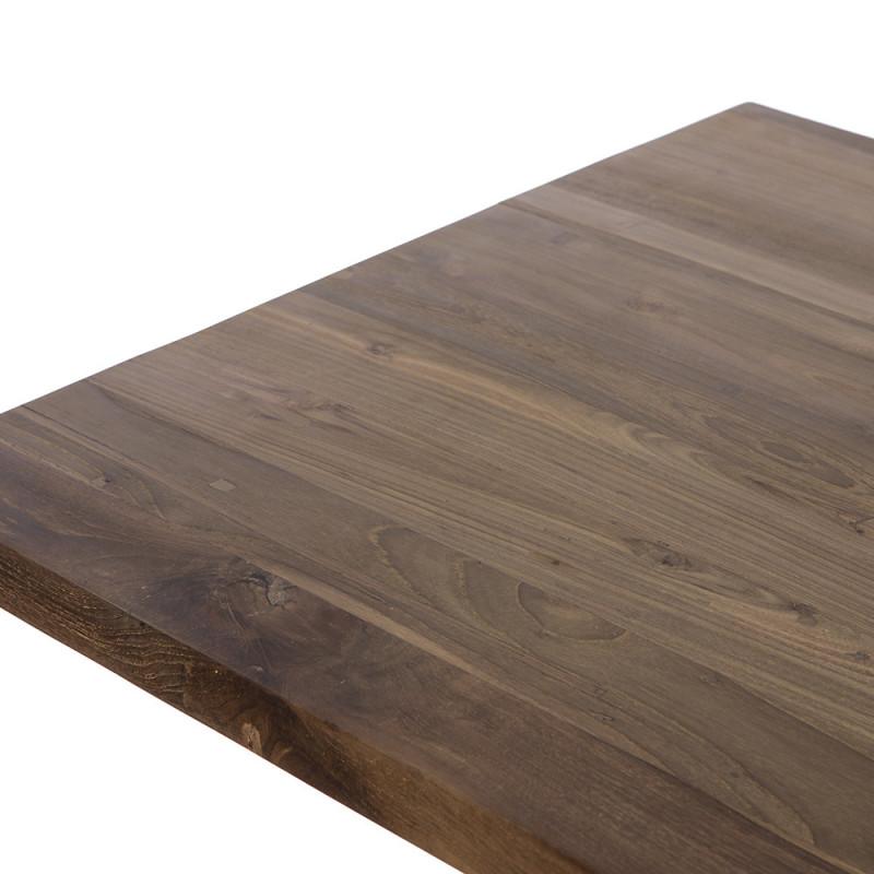 Petite table en bois carrée 70cm - Moli
