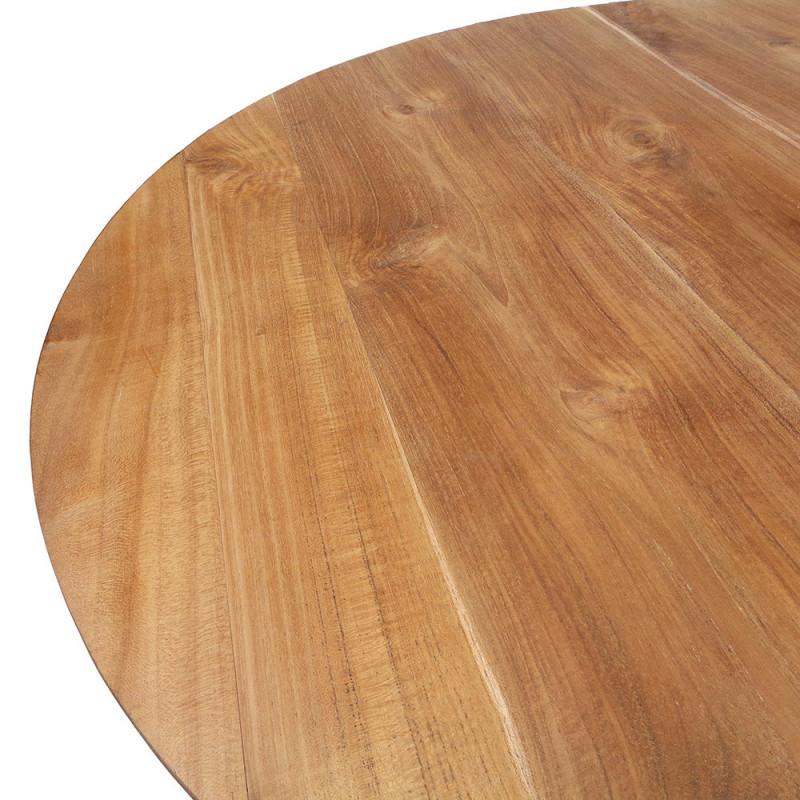 Petite table ronde en bois 90cm - Vick