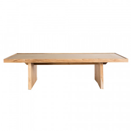 Grande table basse en bois - Claire