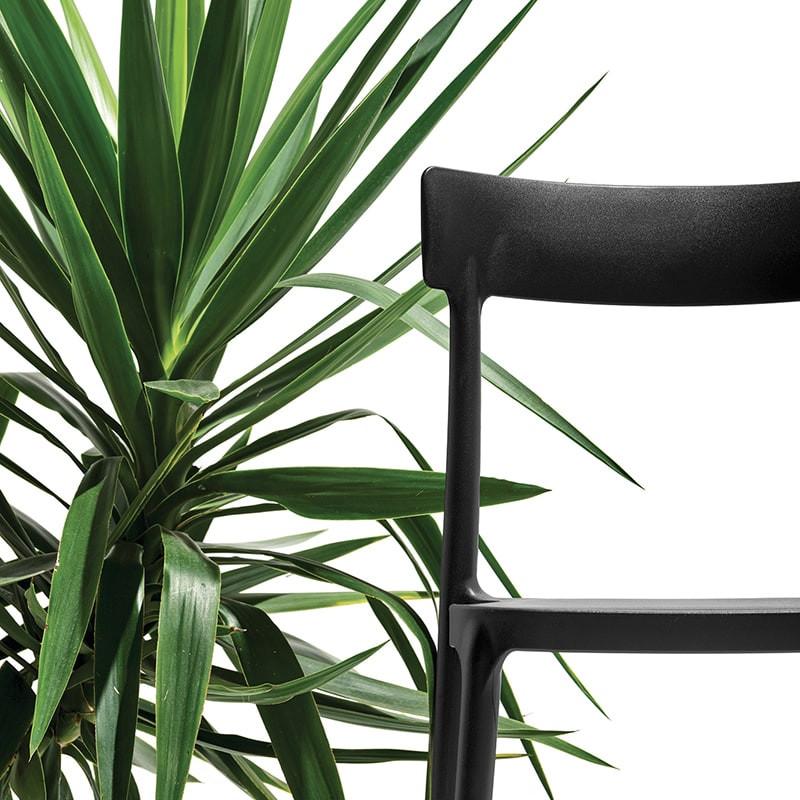 Chaise de cuisine noir Connubia - Argo