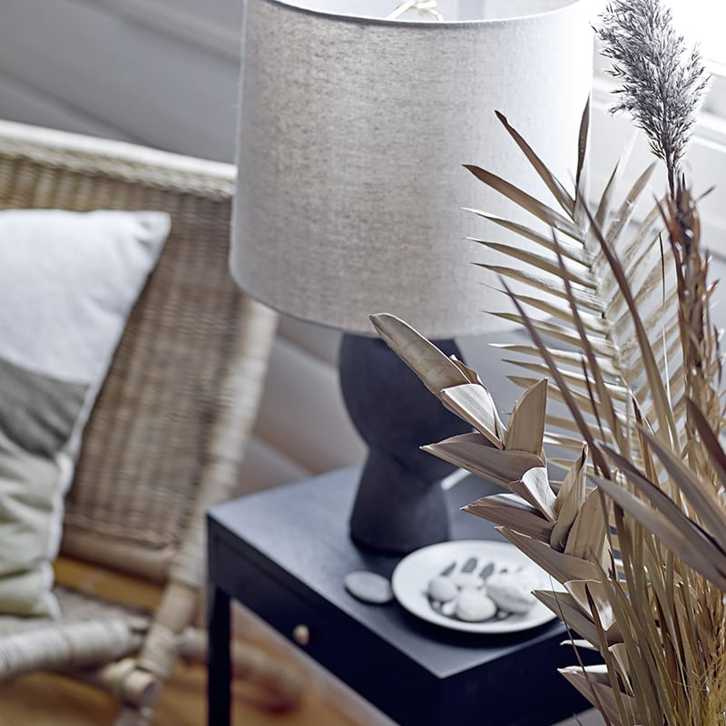 Lampe terre cuite design - Lavand