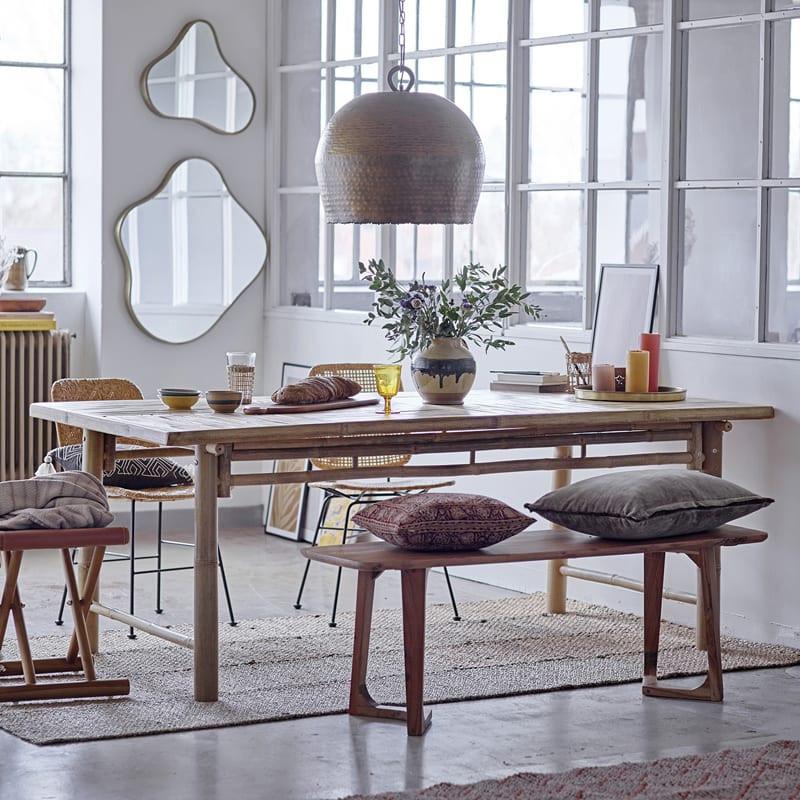 Banc en bois salle à manger - Luie