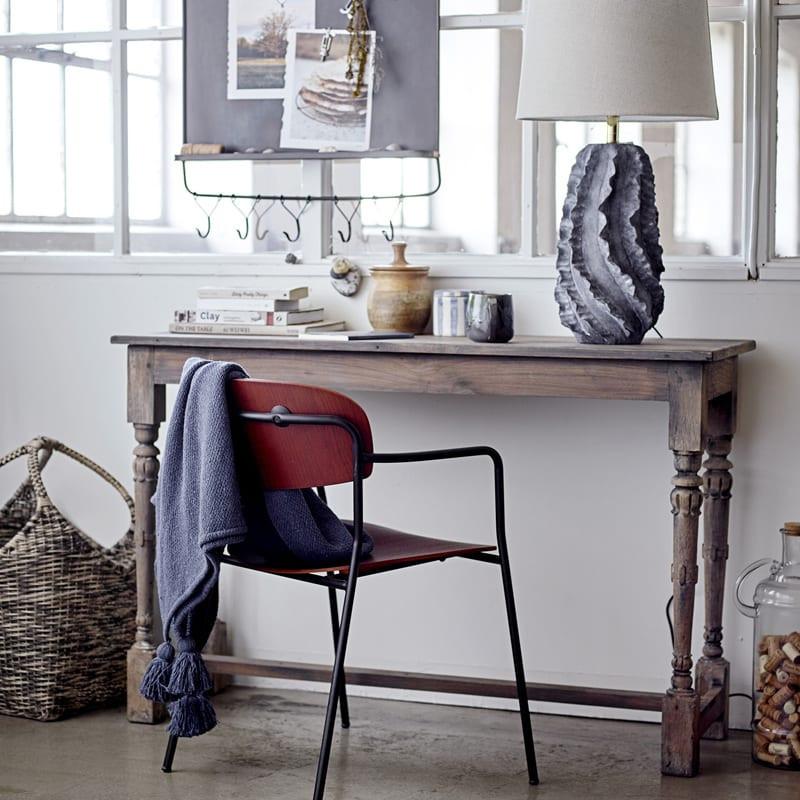Lampe à poser design bleu - Natika