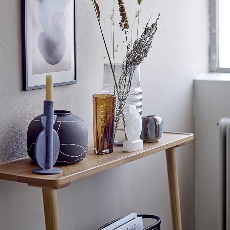 Petite console meuble bois design - Nilus