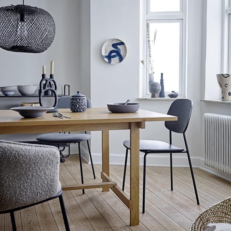 Table salle à manger bois naturel - Nelson