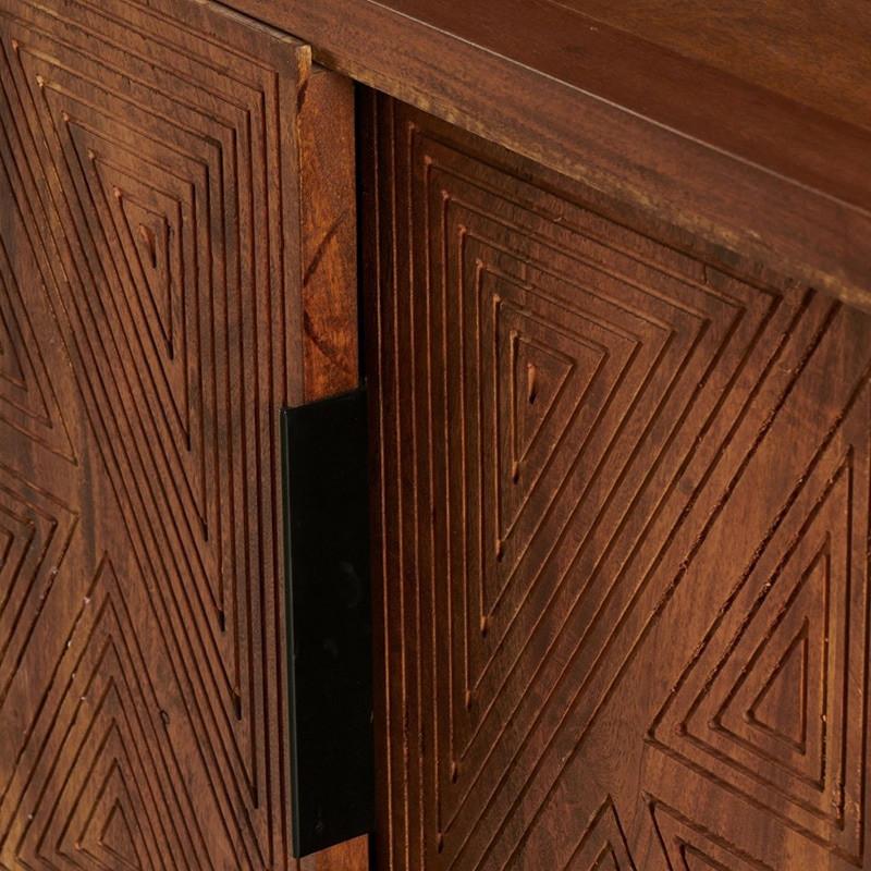 Buffet bas vintage 2 portes et 4 tiroirs - Louison