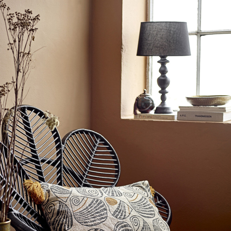 Lampe noire style campagne chic - Ganna