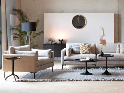 Canapé et fauteuil Coup de Coeur Design